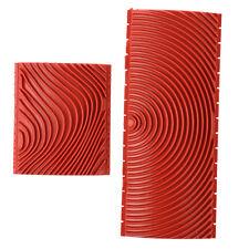 2 pieces Wood Grain Rubber Painting V6P6