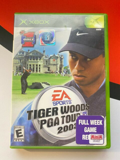 Tiger Woods PGA Tour 2003 (Microsoft Xbox, 2002) (GD) (No Manual)