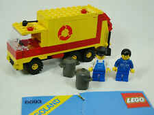 Lego Vintage Town 6693 Refuse Truck 1987 Set With Instructions RETIRED