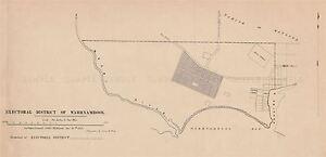 MAP-POLITICAL-1856-WARRNAMBOOL-ELECTORAL-DISTRICT-REPLICA-POSTER-PRINT-PAM1181