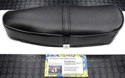 0030 Sella Sellone Nera Bordino Vespa 125 Et3 Modelli Alla Moda