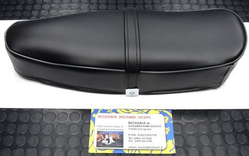 0030 SADDLE SEAT BLACK TRIM VESPA 125 PRIMAVERA