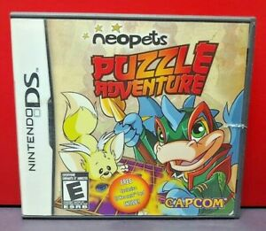 Neopets-Puzzle-Adventure-Nintendo-DS-DS-Lite-3DS-2DS-Game-Complete-Tested