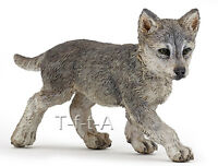 Free Shipping | Papo 50162 Wolf Cub Realistic Wild Animal Toy - In Package