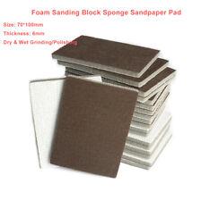70100mm Foam Sanding Paper Sheet Sponge Sandpaper Abrasive Wetampdry Grinding Pad