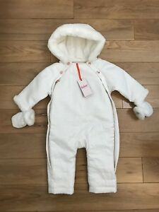 b9f18346aec9 Ted baker Baby Girl s Snowsuit   Mittens Set Size 9-12 months