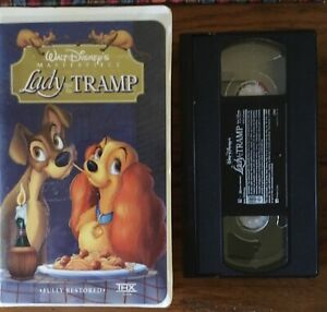 Walt Disney S Lady And The Tramp Masterpiece Collection Vhs Ebay