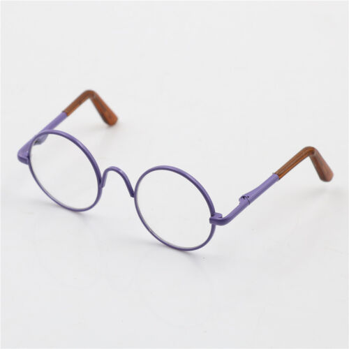 Round Frame Clear Lens Eyewear Glasses for 12/'/' s Accessory WQZY