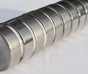 Lot-of-2-5-10-25-Pcs-1-034-x1-4-034-N52-Strong-Disc-Rare-Earth-Neodymium-Magnet