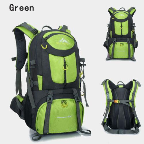 Large Men Hiking Backpack Waterproof Rucksacks Outdoor Camping Travel Sport Bags