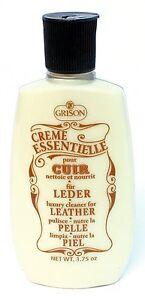 Grison-3-75oz-Creme-Essentielle-Luxury-Leather-Cleaner