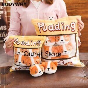 Dog-Pudding-Bag-Shiba-Doggy-Balls-Bag-Plush-Toy-Stuffed-Dogs-Plush-Pillow-Gift