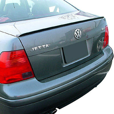 VW Jetta MK4 4 Bora Sedan Rear Trunk Boot Spoiler Lip Wing Sport Trim Lid R Line
