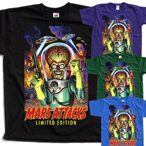 movie poster Mars Attacks V8 1996 T SHIRT all sizes S to 5XL