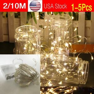 2-10M-String-Fairy-Light-20-100-Micro-LED-Battery-Operated-Party-Lights-Lamp-USA