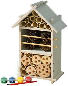 Fsc Holz Insektenhotel Bausatz Für Kinder Insektenhaus Selber Bauen