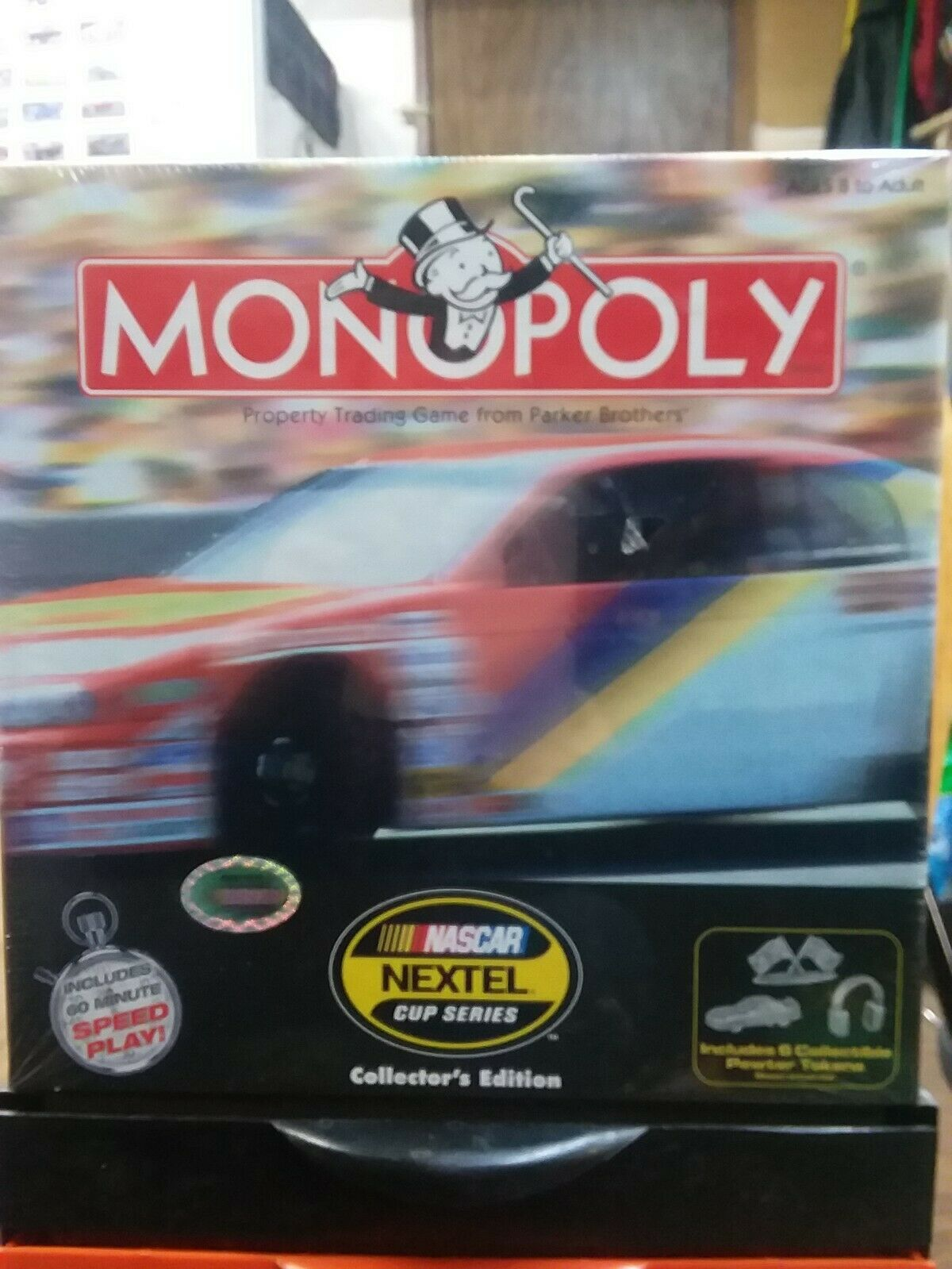 2005 Monopoly NASCAR Nextel Cup Series Collector's Edition Game Sealed