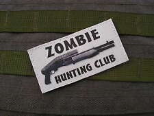SNAKE PATCH - ZOMBIE HUNTING CLUB - blc SPAS 12 airsoft WALKING DEAD evil