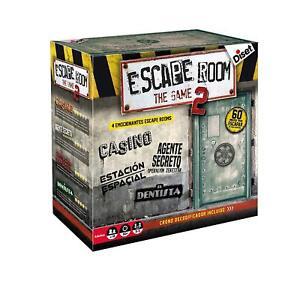 Diset 62326. Juego de Mesa Escape Room V2 Original. Edición Española. +16 años
