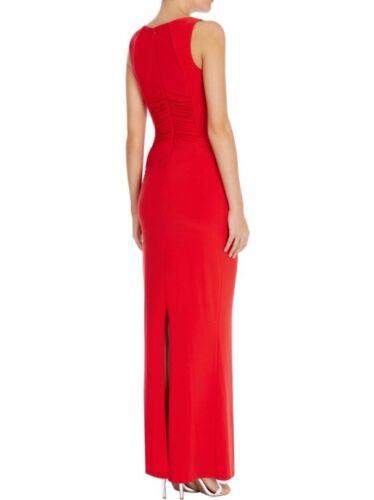 Jersey taglia costa Penita Rosso Maxi Uk 16 Bellissima Abito asimmetrico 4ZYpq5qT