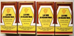4-packs-Liu-Wei-Di-Huang-Wan-Rehmannia-six-High-Quality
