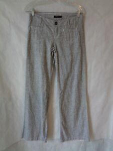 delicate colors search for genuine outlet online Details about Express Women's Gray Linen Blend Pants Size 2 NWT