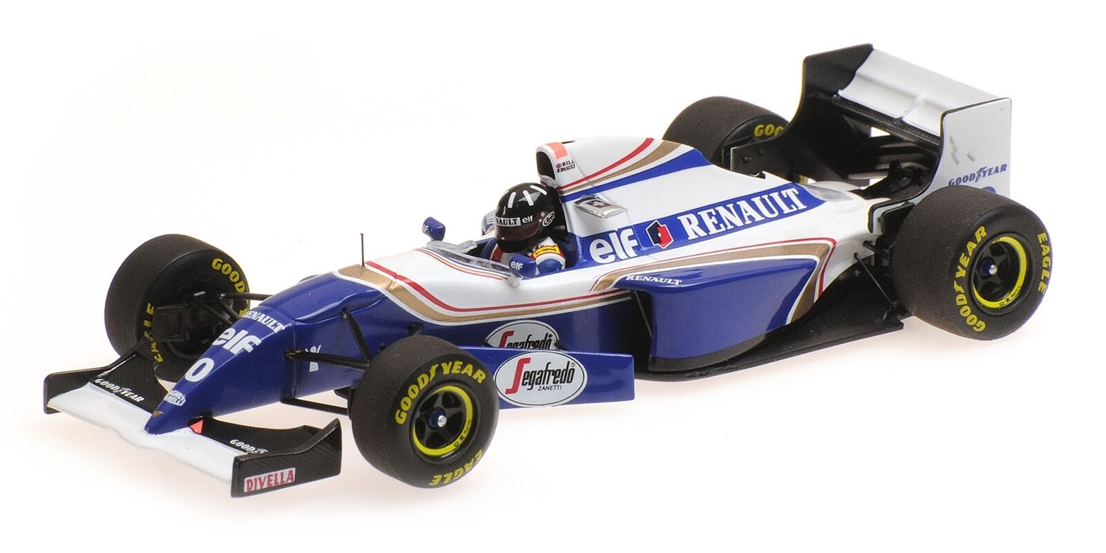 Williams Renault Fw16B Damon Hill Winner Spa 1994 MINICHAMPS 1 43 417940400
