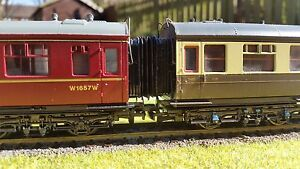 12-x-00-Gauge-Hornby-Bachmann-Collett-Corridor-Connector-Bellows-4mm-BR-GWR