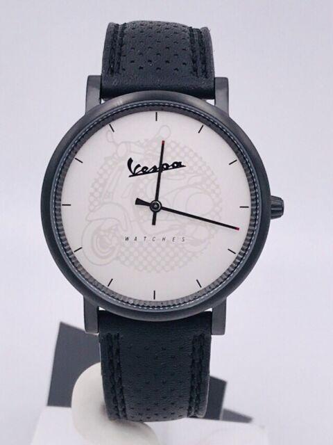 Reloj Vespa Acero Hecho en Italia 40mm VA-CL01-BKSLCP/172 Gran Descuento Nuevo