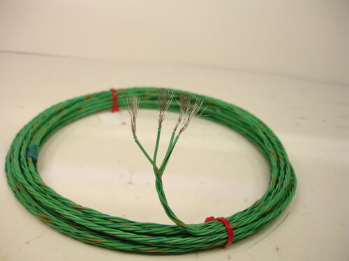 25/' Space Station Wire 22 AWG stranded 4 twisted  Nickel plated Fluoropolymer