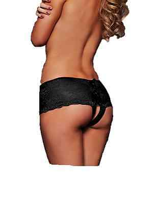 ladies crotchless knickers plus size crotch 14 16 18 sexy lingerie panties deep