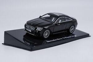 1-43-Mercedes-Benz-E-Class-Coupe-Black-Diecast-Car-Model-Collection