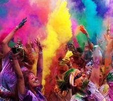 12kg 6 x fluroescent Colori Festival colore eseguire gettare polvere Holi gulal