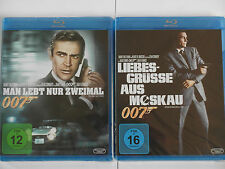 James Bond 007 Connery Sammlung - Liebesgrüsse aus Moskau + Man lebt nur zweimal
