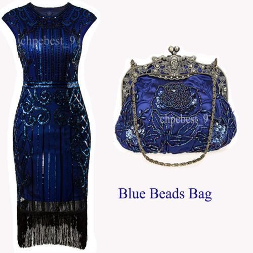 Flapper Costume 1920s Dress 20s Roaring Great Gatsby Fancy Party Dresses 4 18 20