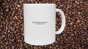 Details about Nosey Little Person Ceramic Mug Office Funny Joke Secret  Santa Christmas Gift