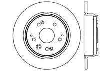 Disc Brake Rotor-High Performance Drilled And Slotted fits 99-03 Acura TL
