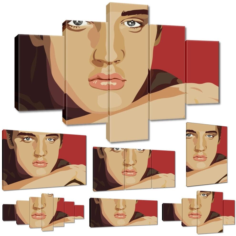 Leinwandbild Canvas Print Wandbild Elvis Presley Nr 2116