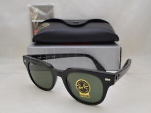 b24608e4471 Ray Ban METEOR (RB2168-901 31 50) Black with Green Lens ...