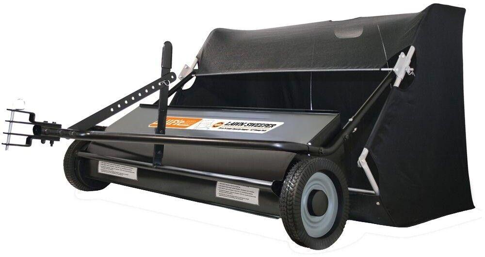 AllFitHD Lawn Sweeper 42 in. 22 cu. ft Height Adjustment Adjustment Adjustment 3-Position Hitch Adjust 3a1835