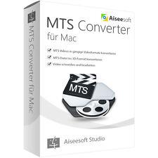 Aiseesoft MTS Converter MAC -lebenslange Lizenz Download