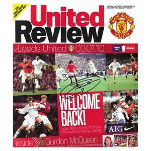Jermaine-Beckford-Signed-Leeds-United-Man-Utd-Programme-Autograph-Memorabilia