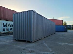 40 ft Construction Grade High-Cube Container British Columbia Preview