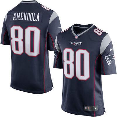 New England Patriots Youth Danny Amendola #80 Nike Navy Game Jersey - Blue | eBay