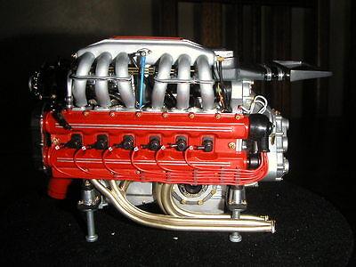 Pocher 1/8 Ferrari Testarossa Engine Transkit Ltd Ed Super Detailed 400 Parts!