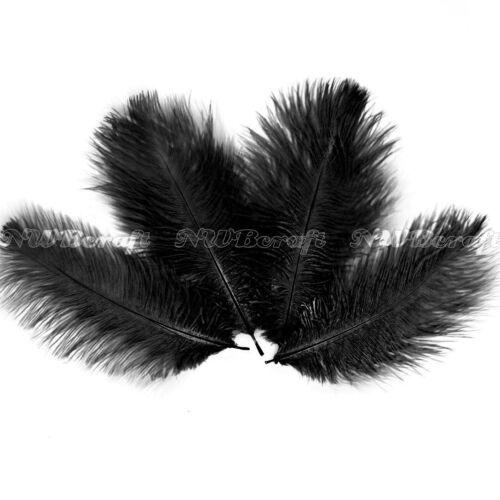 10pcs 15-20cm Ostrich Feather Wedding Costume Party Centrepiece Craft Decor
