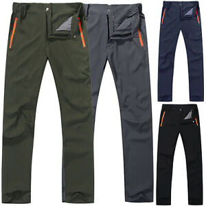 Breathable-Mens-Cargo-Combat-Pants-Waterproof-Hiking-Climbing-Tactical-Trousers
