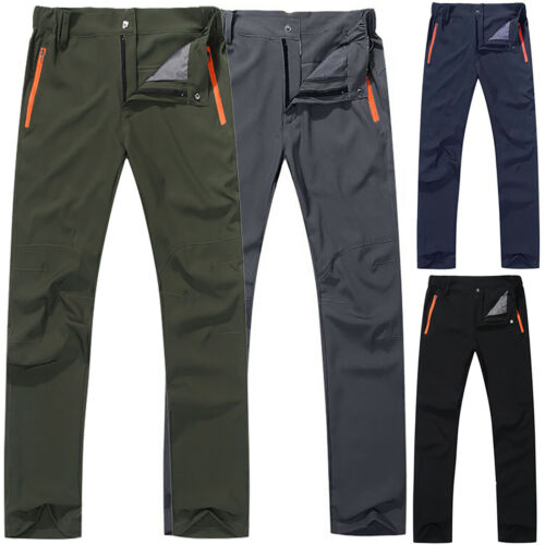 Mens Pocket Cargo Combat Outdoor Work Wear Pants Camping Hiking Tactical Trouser