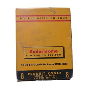 Kodachrome Film Cine En Couleurs Por  Camera 8mm