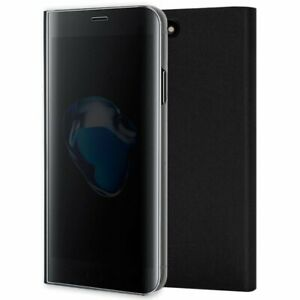 Funda-Flip-Cover-IPhone-7-Plus-IPhone-8-Plus-Clear-View-Negro